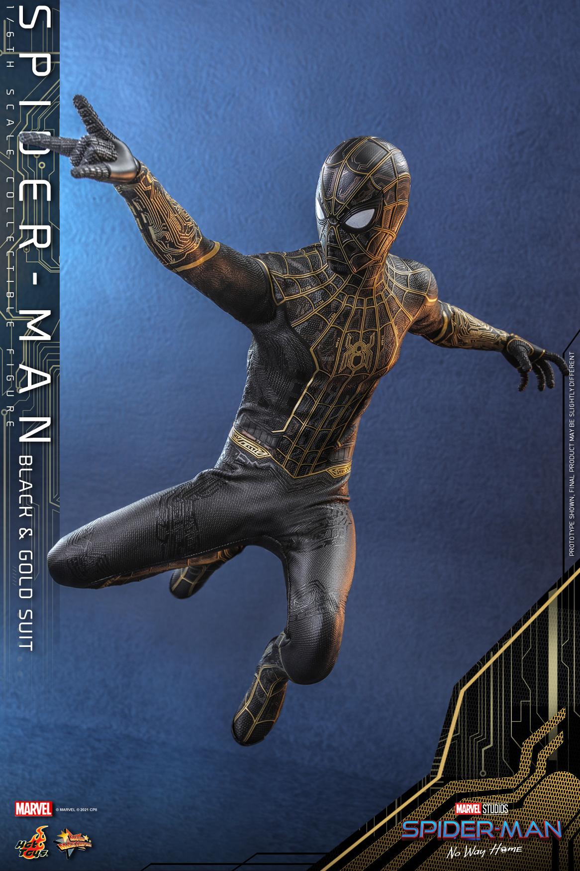 Hot Toys - SMNWH - Spider-Man (Black and Gold Suit) collectible figure_Update_PR3