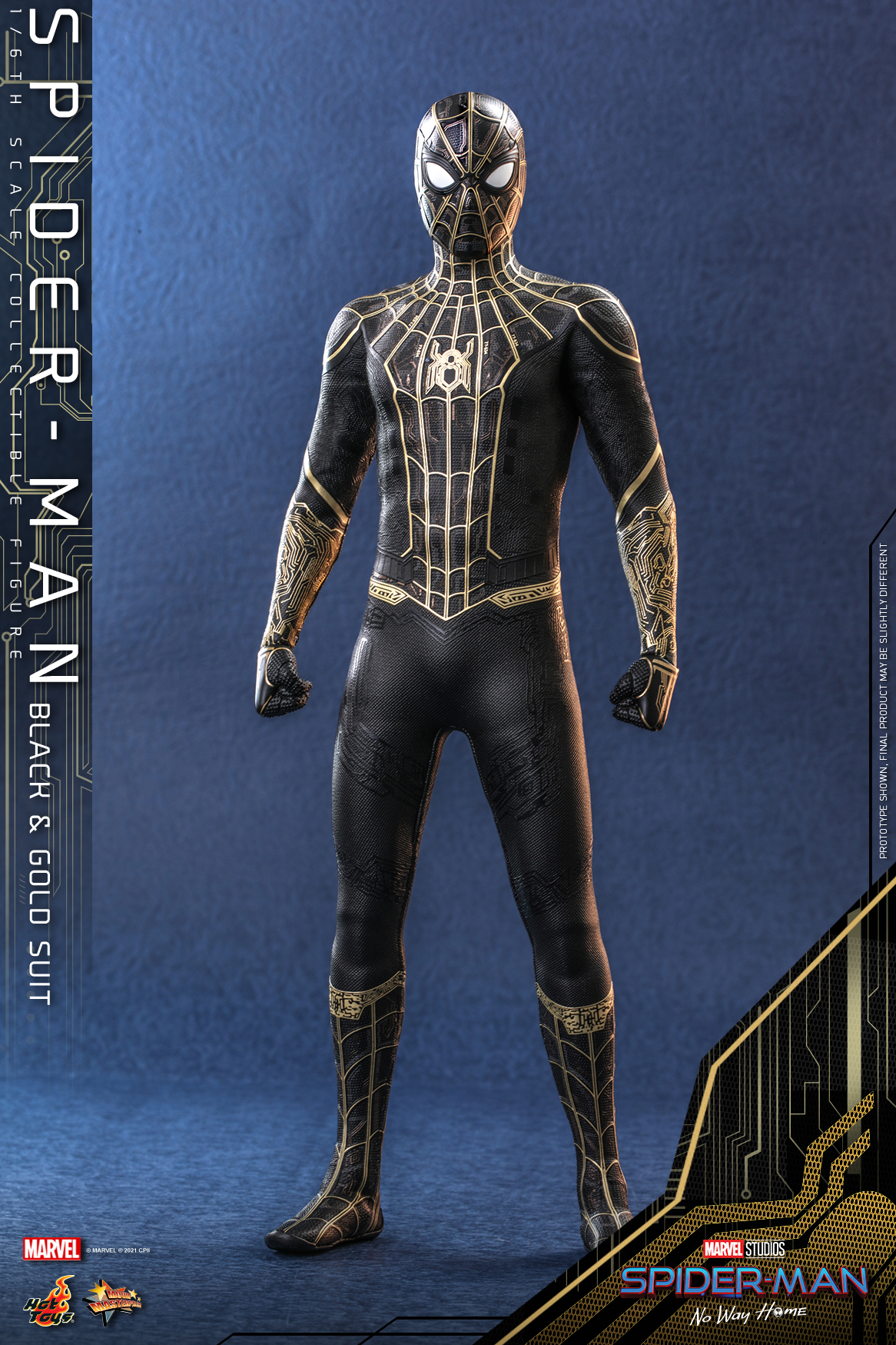 Hot Toys - SMNWH - Spider-Man (Black and Gold Suit) collectible figure_Update_PR5