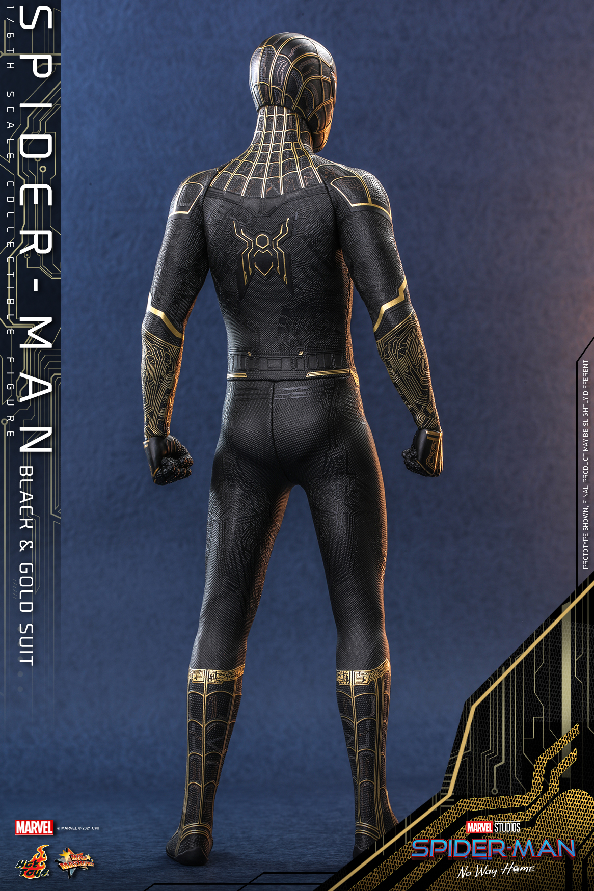 Hot Toys - SMNWH - Spider-Man (Black and Gold Suit) collectible figure_Update_PR6