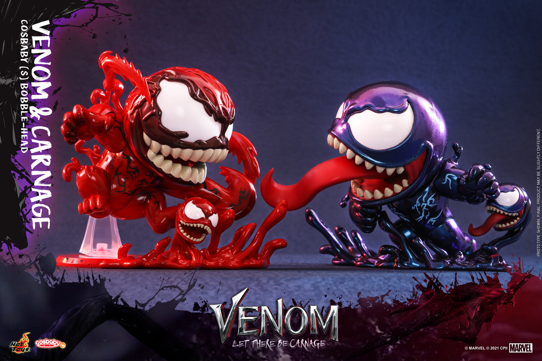 Hot Toys - Venom 2 - Venom & Carnage Cosbaby Set_PR1