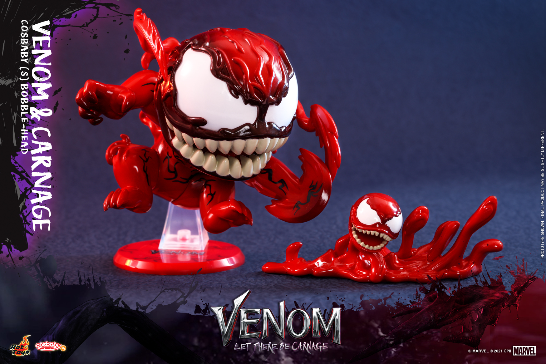 Hot Toys - Venom 2 - Venom & Carnage Cosbaby Set_PR2