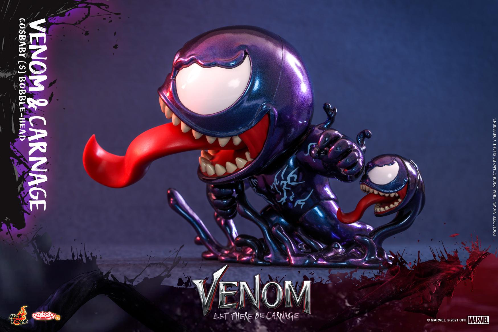 Hot Toys - Venom 2 - Venom & Carnage Cosbaby Set_PR4