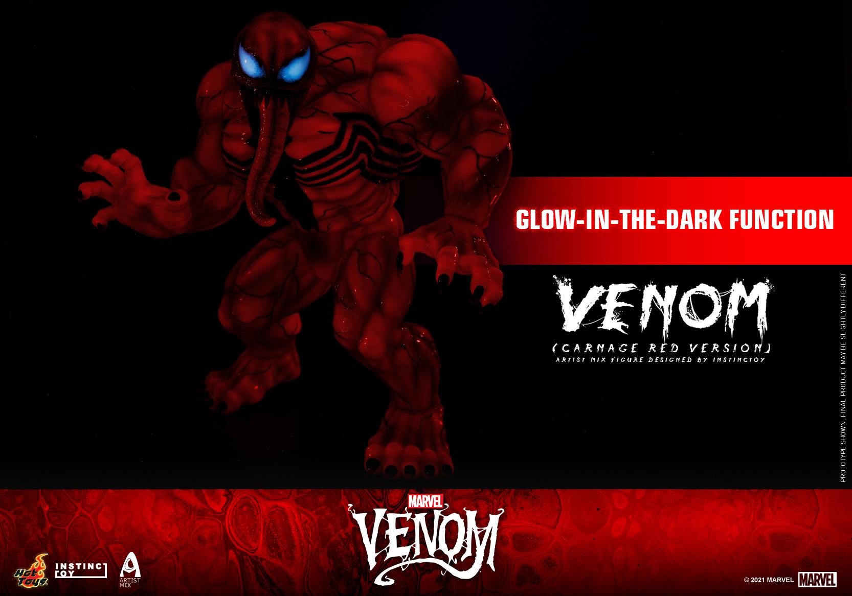 Hot Toys - Venom (Carnage Red Version) Artist Mix Figure Designed by Instinctoy_PR3