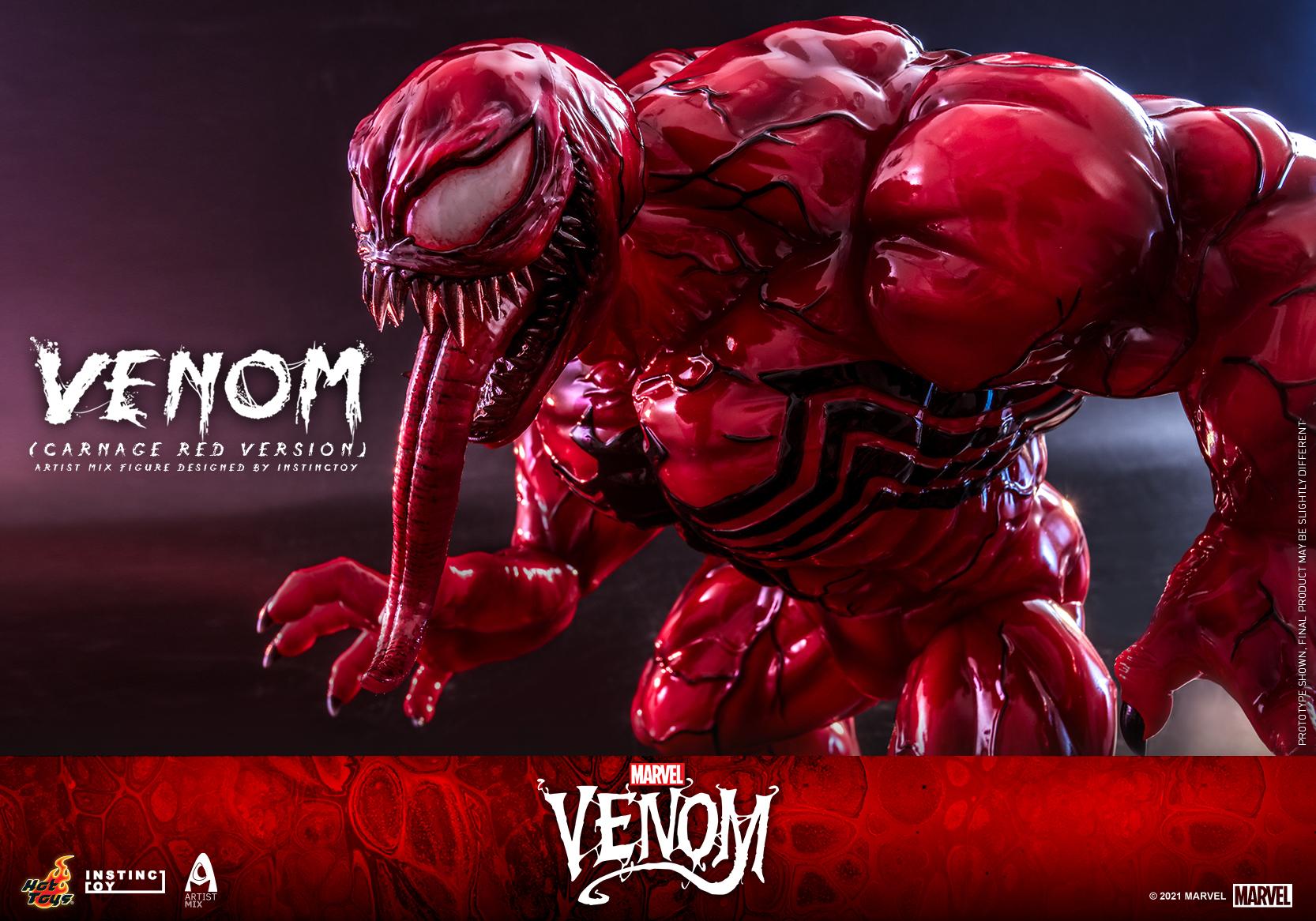 Hot Toys - Venom (Carnage Red Version) Artist Mix Figure Designed by Instinctoy_PR6
