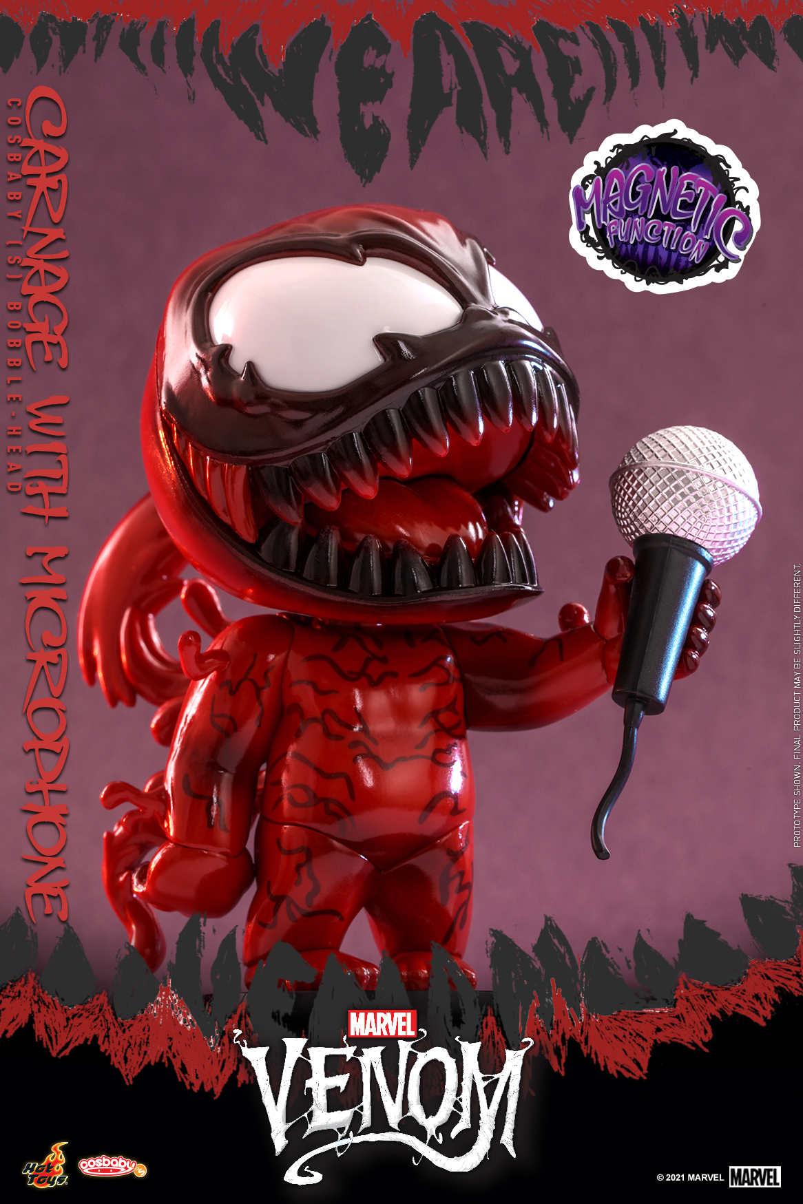 Hot Toys - Venom (Comic) - Carnage with Mircrophone Cosbaby_PR1