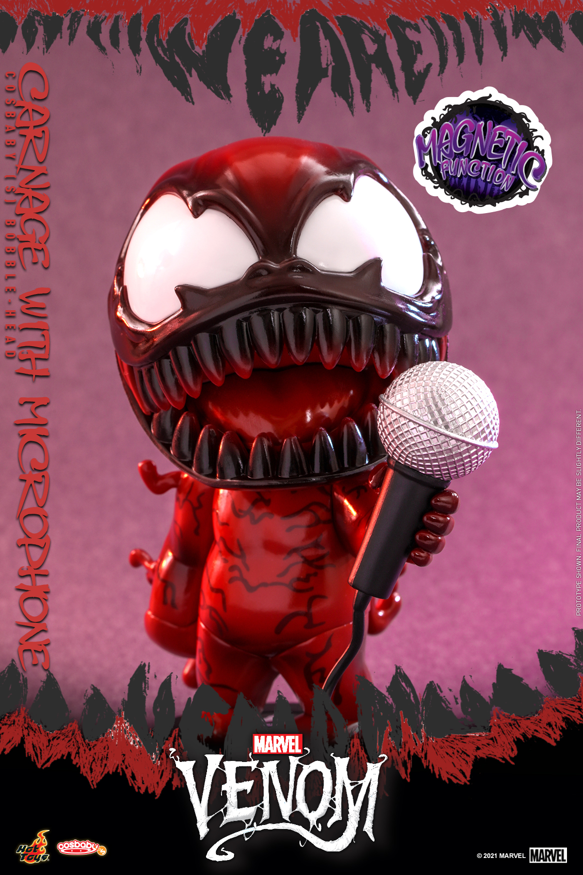 Hot Toys - Venom (Comic) - Carnage with Mircrophone Cosbaby_PR2