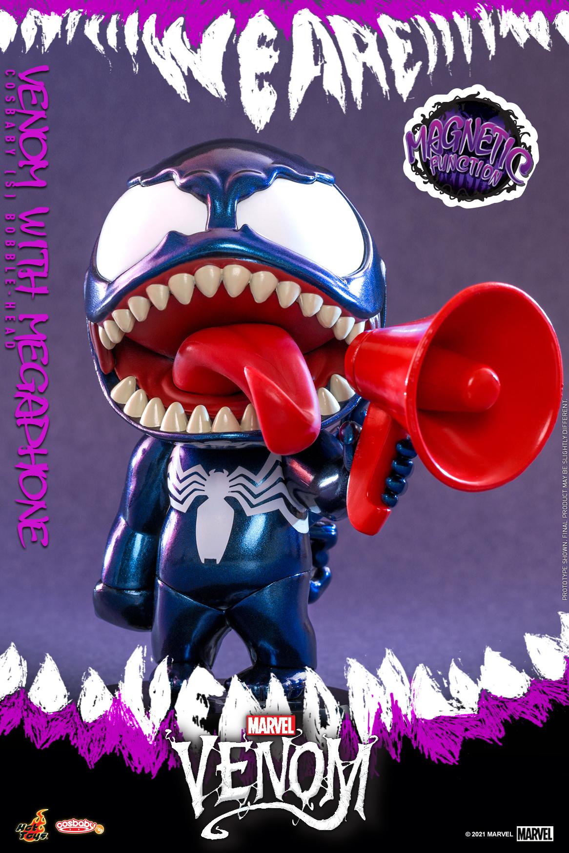 Hot Toys - Venom (Comic) - Venom with Megaphone Cosbaby_PR2