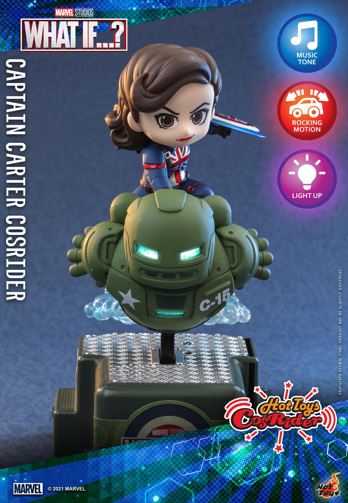Hot Toys - What If - Captain Carter CosRider_PR2