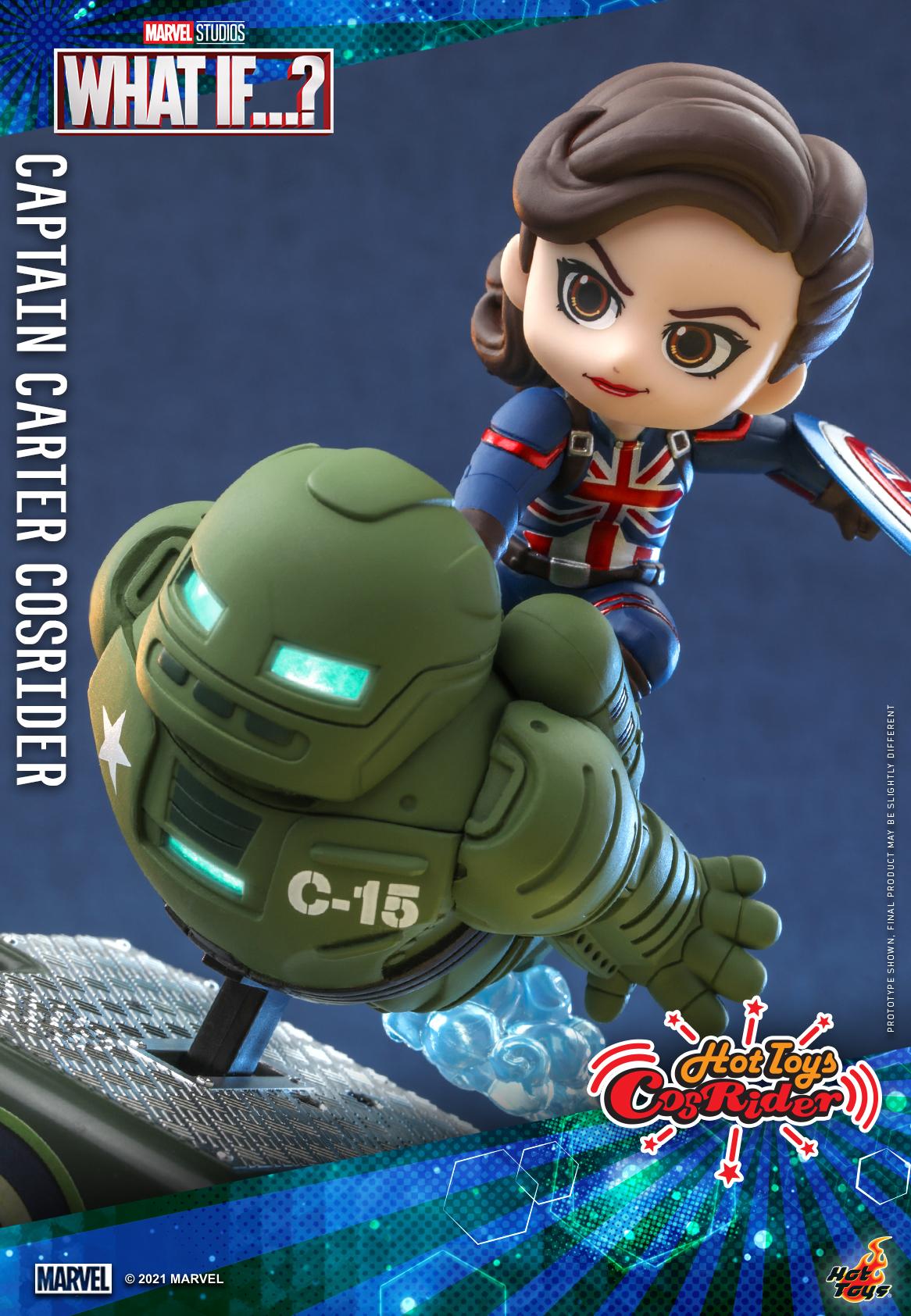 Hot Toys - What If - Captain Carter CosRider_PR3