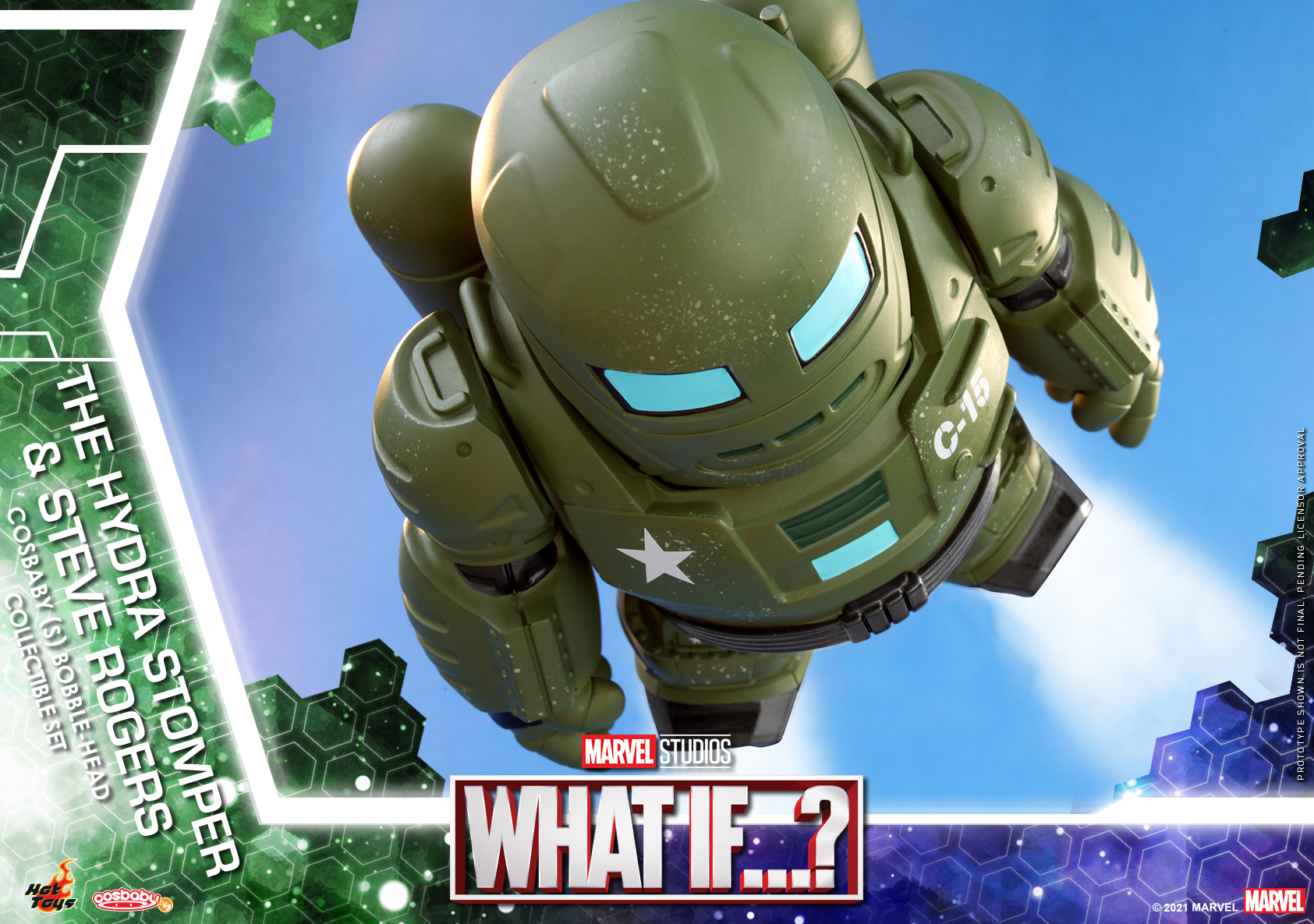 Hot Toys - What If - The Hydra Stomper & Steve Rogers Cosbaby_PR7