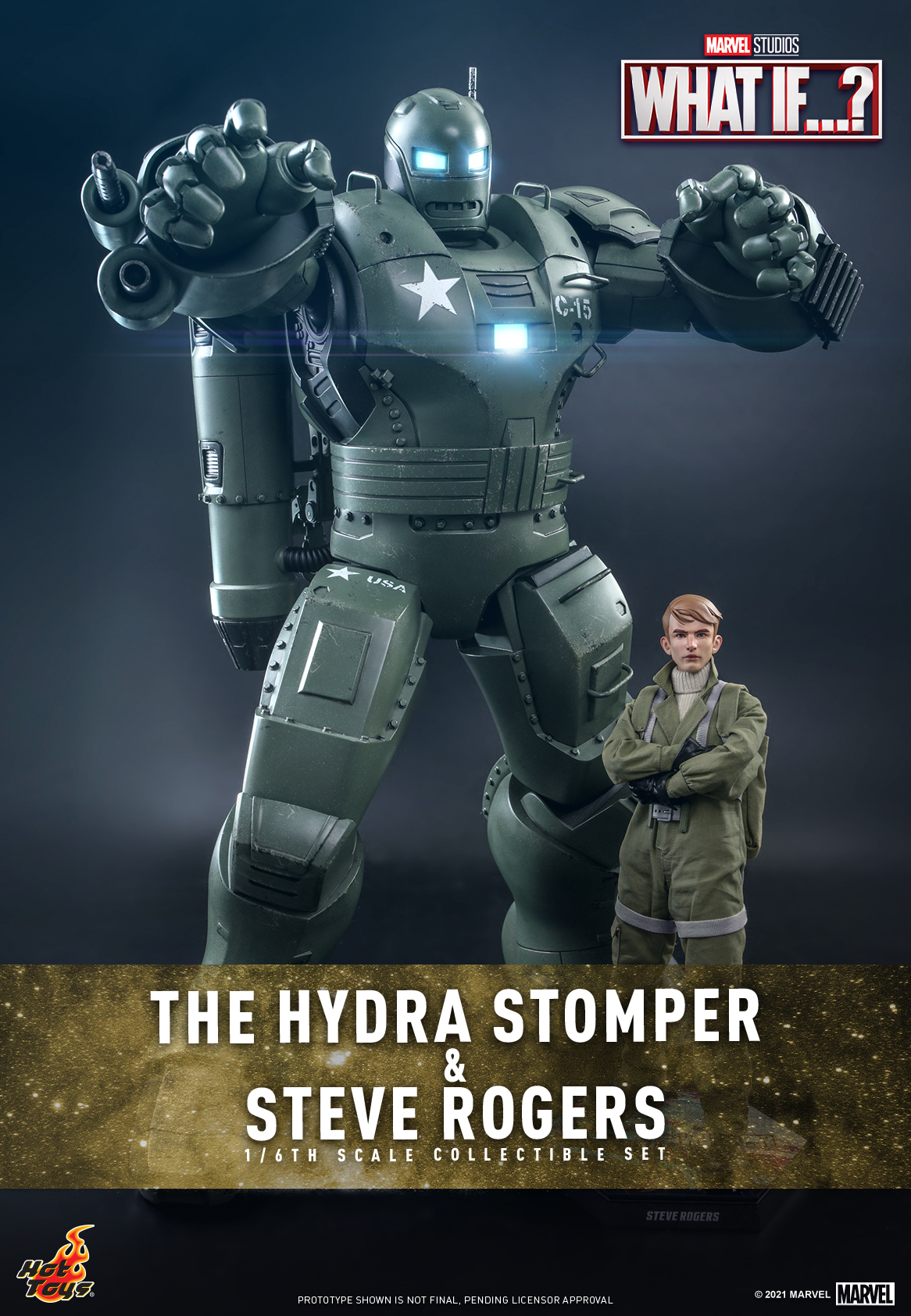 Hot Toys - What If - The Hydra Stomper & Steve Rogers collectible set_Cover