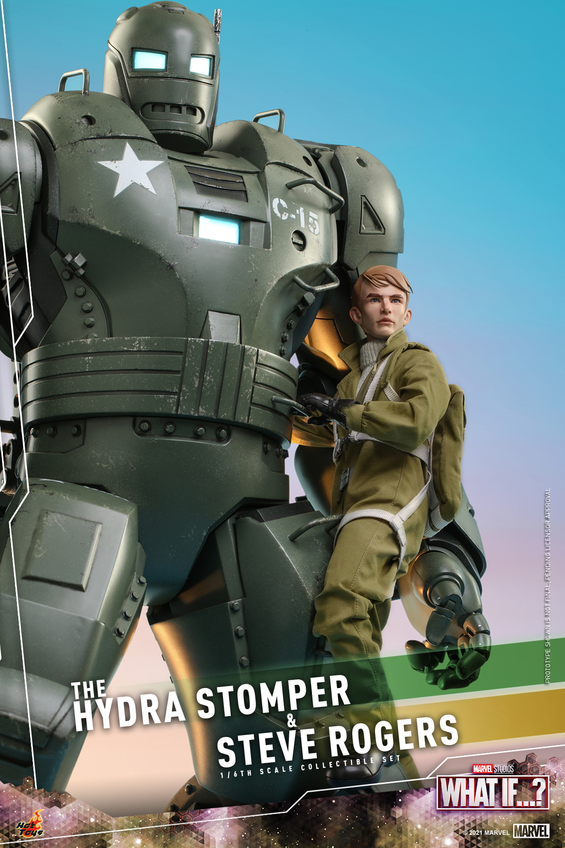 Hot Toys - What If - The Hydra Stomper & Steve Rogers collectible set_PR5