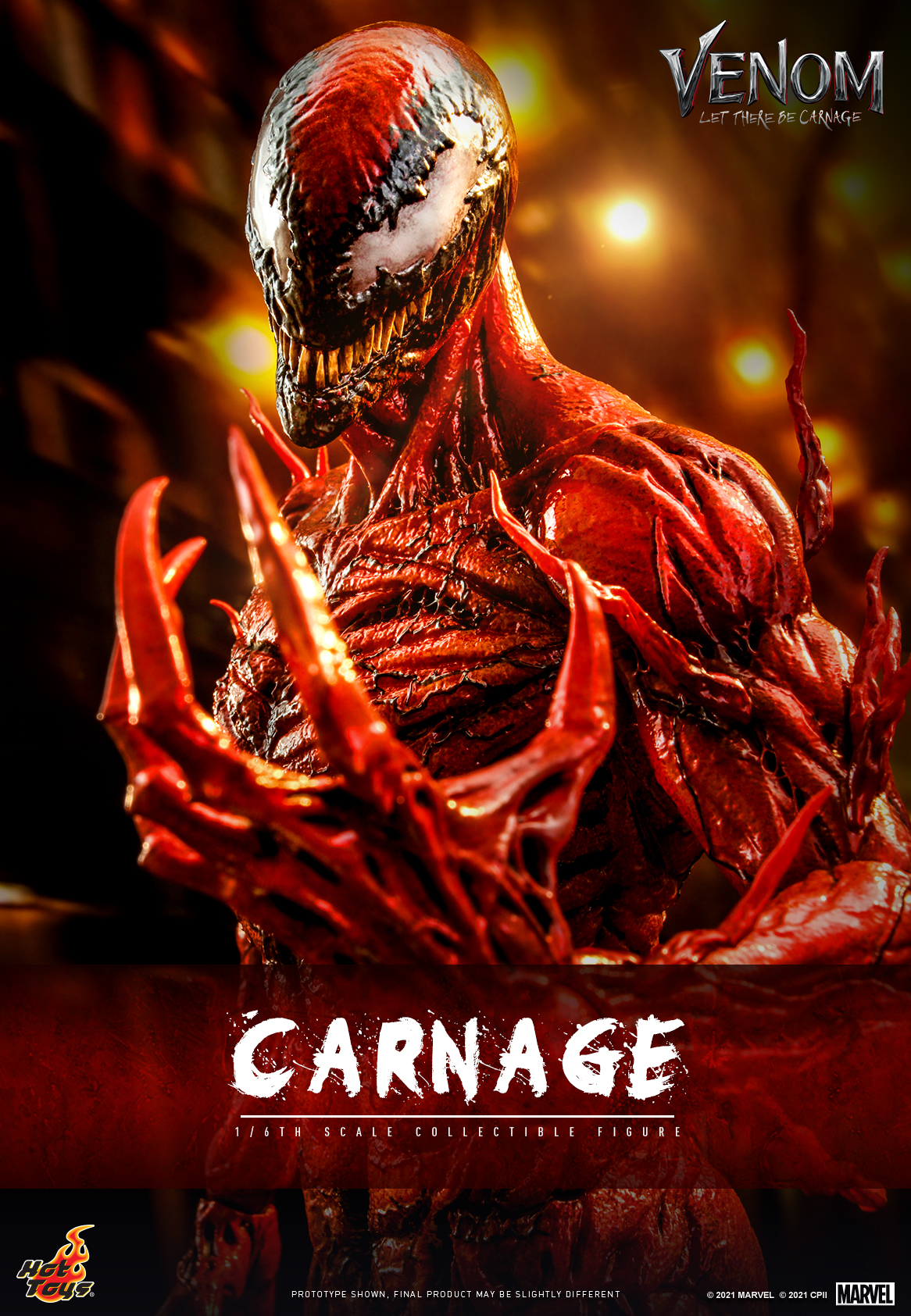 Hot Toys - Venom 2 - Carnage Collectible Figure_Cover
