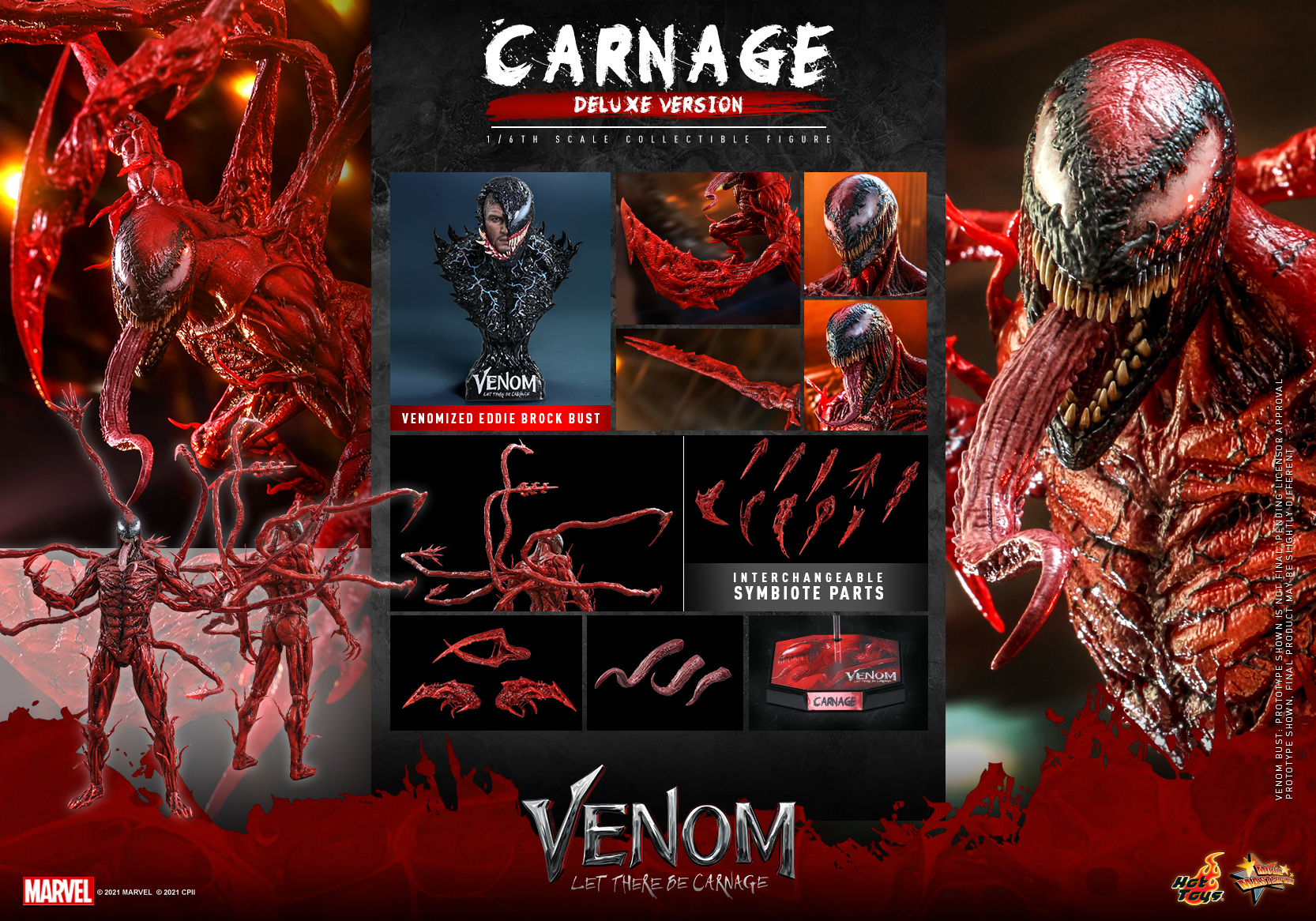 Hot Toys - Venom 2 - Carnage Collectible Figure_PR20 (Deluxe)