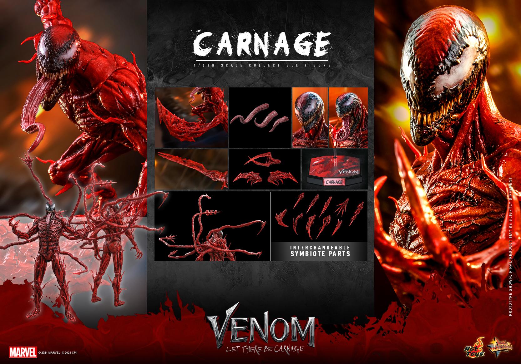 Hot Toys - Venom 2 - Carnage Collectible Figure_PR21